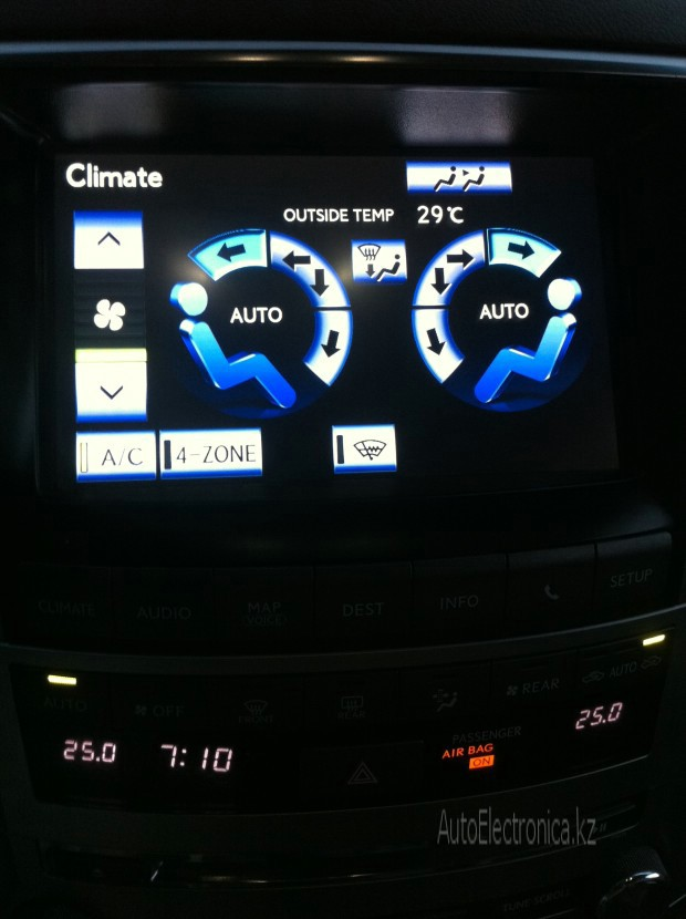 Адаптация Lexus LX570 (2013)