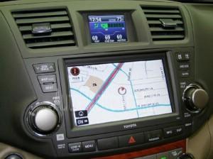Установка навигационной системы