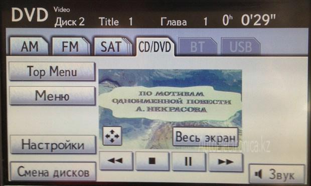 DVD меню