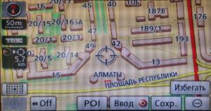 Карты Казахстана для Lexus и Toyota