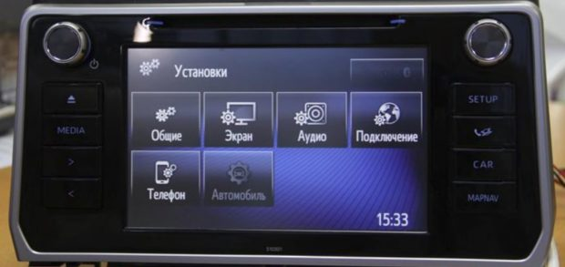 Установки NAVITOUCH NT3325 ANDROID