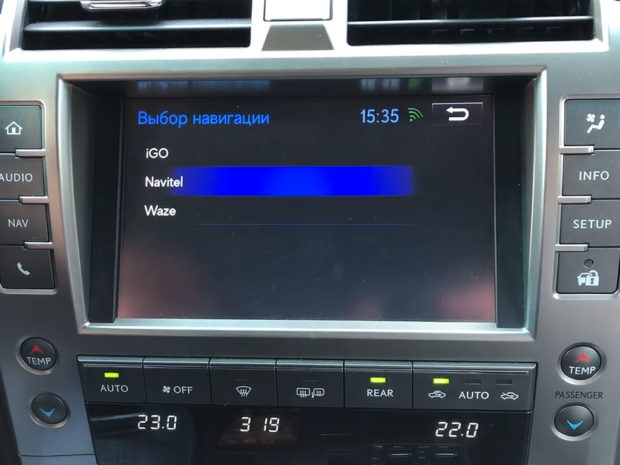 NaviTouch NT3306 на Lexus GX460
