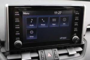 Головное устройство Тойота Рав 4 2020
