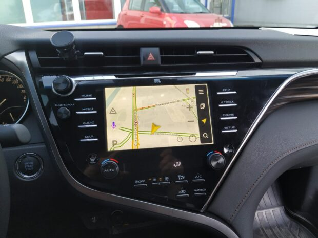 Блок навигации Radiola RDL-03 на Android 8 для Toyota Camry70 2019+ JBL