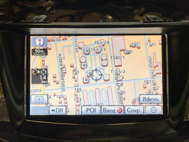 Оригинальный дисплей для Lexus LX570 GEN6