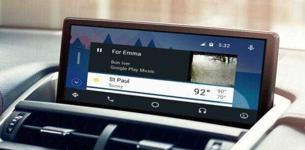 Андроид авто Lexus NX