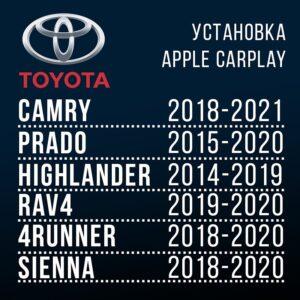 Установка CarPlay