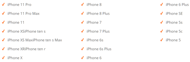 Совместимость с телефонами iPhone