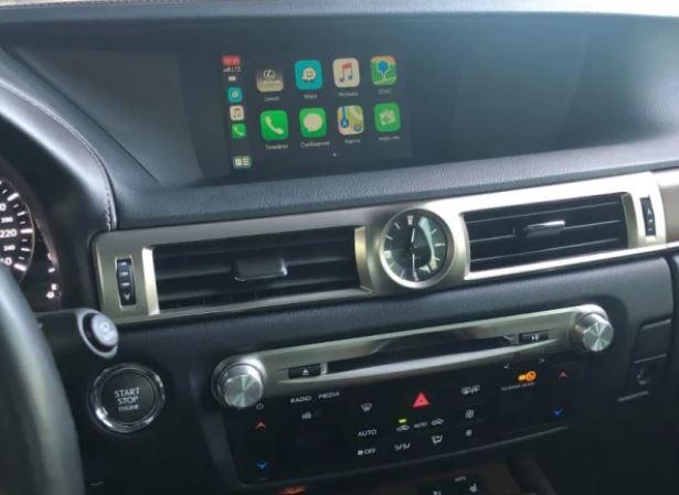 Carplay на Lexus GS350 2012