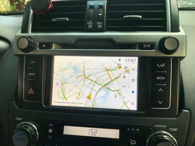 Блок навигации Android 8.1 для Toyota Touch2